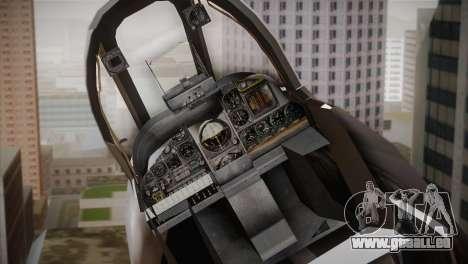 A-10A The Idolmaster -SP- pour GTA San Andreas vue arrière