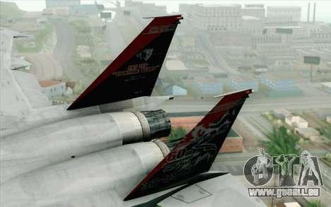 F-15J Kai 60th Anniversary of JASDF pour GTA San Andreas sur la vue arrière gauche