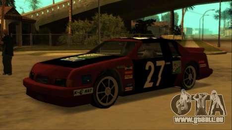 Beta Hotring Racer pour GTA San Andreas salon
