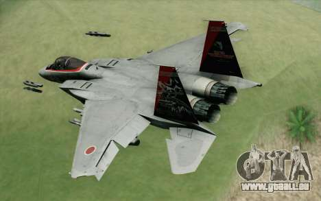 F-15J Kai 60th Anniversary of JASDF pour GTA San Andreas laissé vue