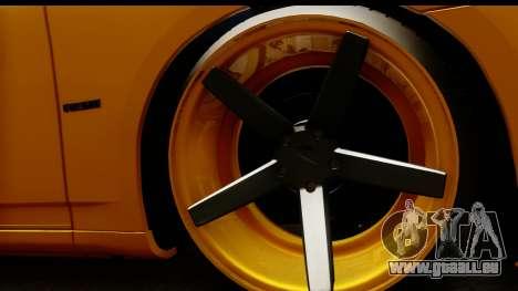 Dodge Charger SRT8 2006 Tuning pour GTA San Andreas vue arrière