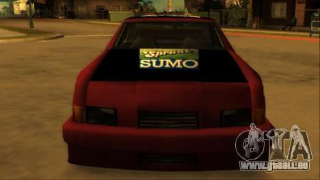 Beta Hotring Racer pour GTA San Andreas vue de côté