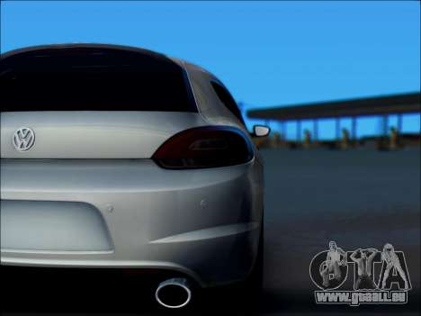 Volkswagen Scirocco Tunable für GTA San Andreas Seitenansicht