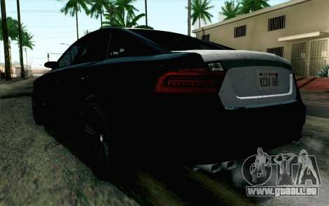 GTA 5 Karin Kuruma v2 SA Mobile für GTA San Andreas linke Ansicht
