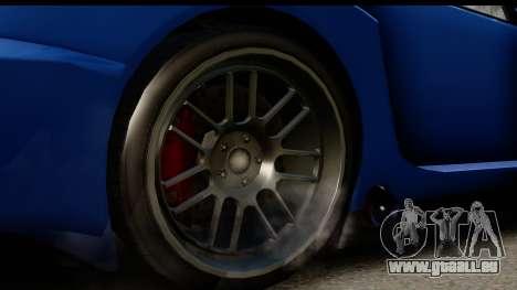 GTA 5 Benefactor Feltzer IVF pour GTA San Andreas vue arrière