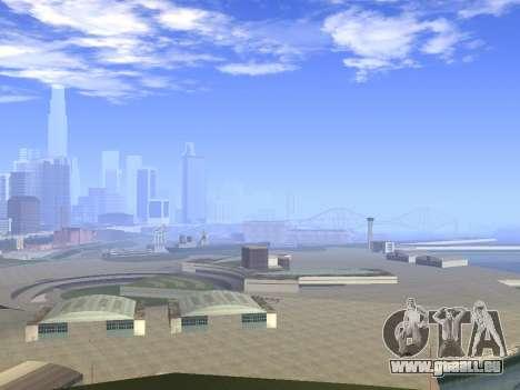 Beautiful Timecyc pour GTA San Andreas troisième écran
