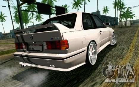 BMW M3 E30 2015 für GTA San Andreas linke Ansicht