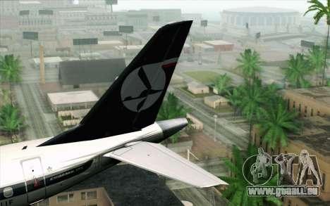 Embraer EMB-175 LOT Polish Airlines pour GTA San Andreas sur la vue arrière gauche