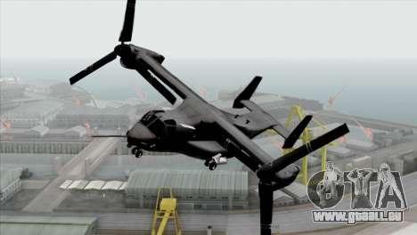 MV-22 Osprey USAF für GTA San Andreas