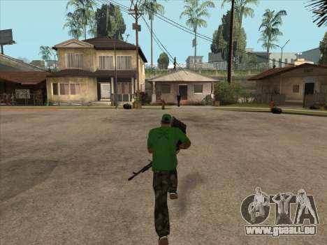 SCHNUR von Battlefield 3 für GTA San Andreas her Screenshot