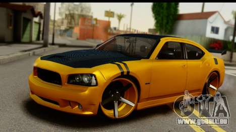 Dodge Charger SRT8 2006 Tuning pour GTA San Andreas