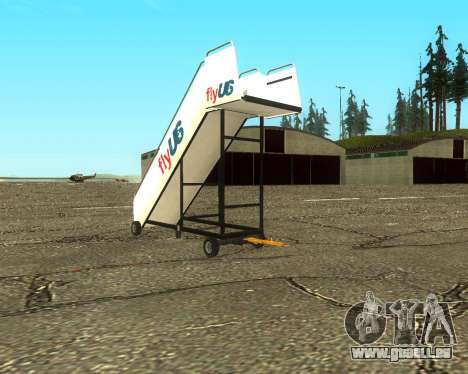 New Tugstair Fly US für GTA San Andreas linke Ansicht