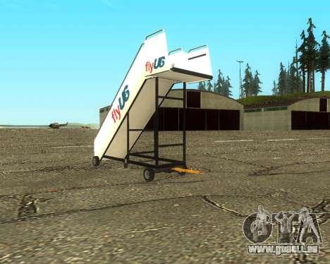 New Tugstair Fly US pour GTA San Andreas laissé vue
