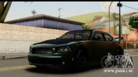 Dodge Charger SRT8 2006 Tuning pour GTA San Andreas vue de côté