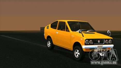 Mitsubishi Minica Skipper pour GTA San Andreas sur la vue arrière gauche