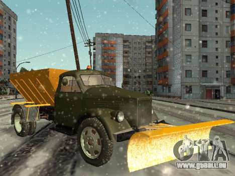 GAS-51 Schneefräse für GTA San Andreas