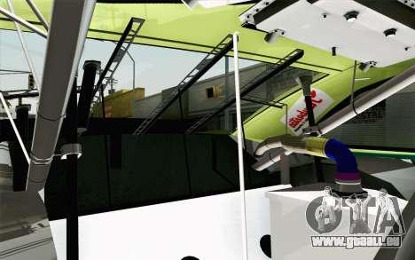 NASCAR Toyota Camry 2013 v4 für GTA San Andreas Rückansicht