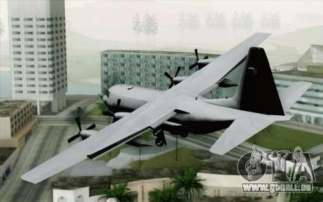 C-130H Hercules Polish Air Force pour GTA San Andreas laissé vue