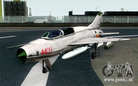 MIG-21UM Vietnam Air Force für GTA San Andreas