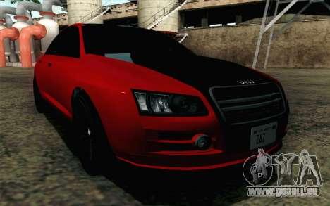 GTA 5 Karin Kuruma v2 für GTA San Andreas