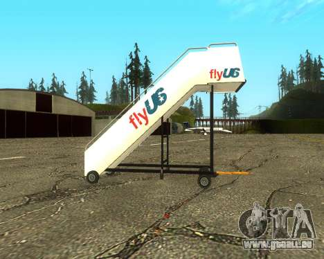 New Tugstair Fly US für GTA San Andreas