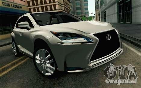 Lexus NX 200T v2 für GTA San Andreas