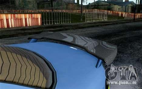 GTA 5 Ubermacht Sentinel XS SA Mobile pour GTA San Andreas vue de droite