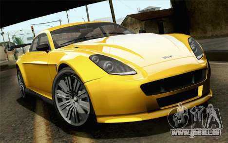 GTA 5 Dewbauchee Exemplar pour GTA San Andreas