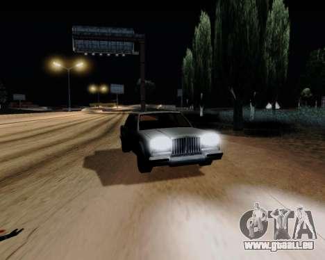 ENB Series for Low PC pour GTA San Andreas cinquième écran
