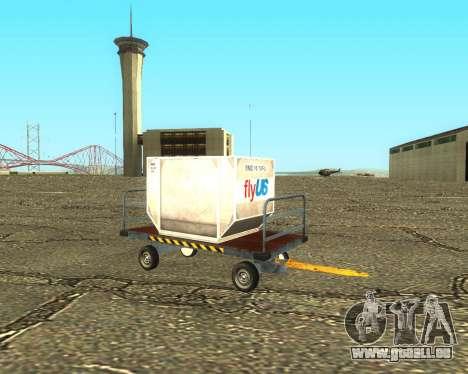 New Bagbox B für GTA San Andreas Seitenansicht