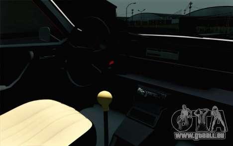 Dacia 1310 TX für GTA San Andreas Rückansicht