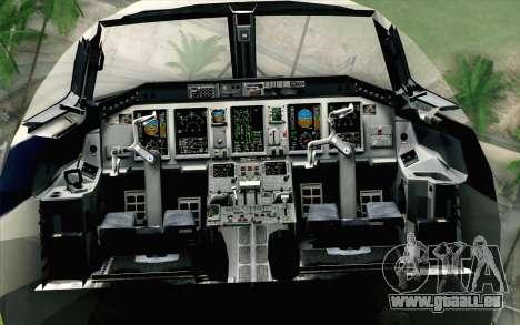Embraer EMB-175 LOT Polish Airlines pour GTA San Andreas vue arrière