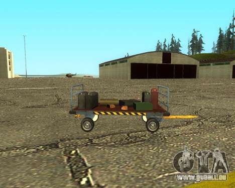 New Bagbox B für GTA San Andreas Innenansicht