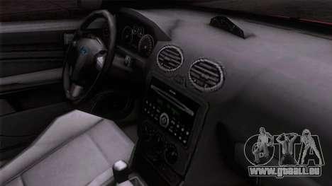 Ford Focus ST Tunable pour GTA San Andreas vue de droite