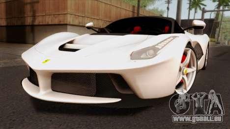 Ferrari LaFerrari 2015 pour GTA San Andreas