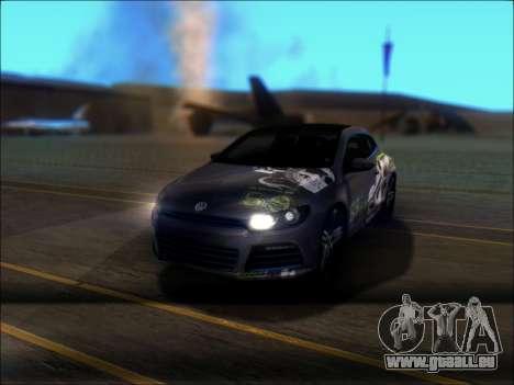 Volkswagen Scirocco Tunable pour GTA San Andreas roue