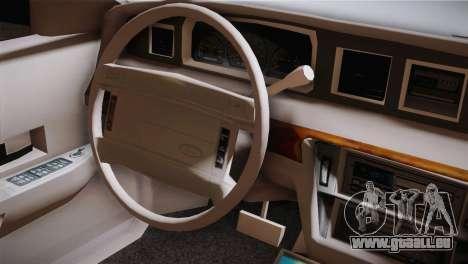Ford Crown Victoria pour GTA San Andreas vue arrière