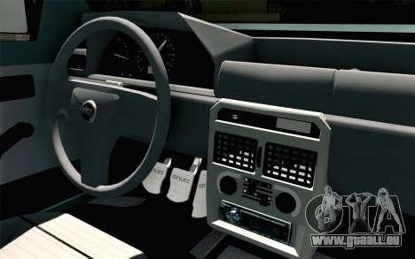 Fiat Uno Fire pour GTA San Andreas vue de droite