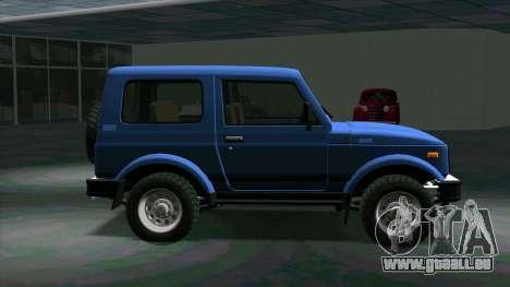 Suzuki Samurai für GTA San Andreas linke Ansicht