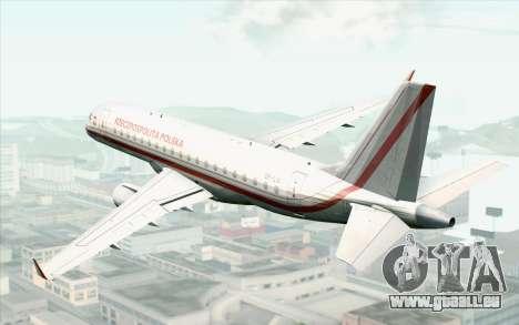 Embraer EMB-175 Republic Of Poland pour GTA San Andreas laissé vue
