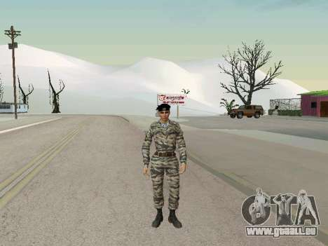 Kira Lebedev pour GTA San Andreas quatrième écran