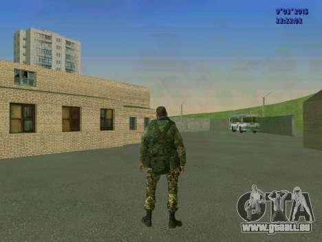 Un combattant de Sparte bataillon pour GTA San Andreas quatrième écran