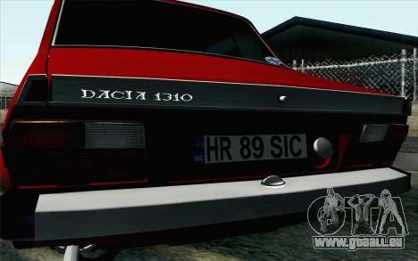 Dacia 1310 TX pour GTA San Andreas vue de droite