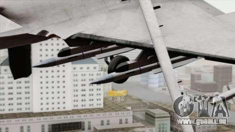 Dassault Rafale M Pisces pour GTA San Andreas vue de droite