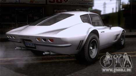 GTA 5 Invetero Coquette Classic HT SA Mobile pour GTA San Andreas laissé vue