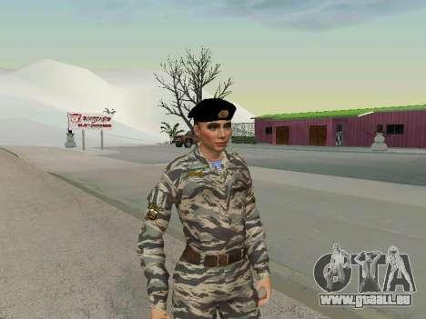 Kira Lebedev pour GTA San Andreas deuxième écran