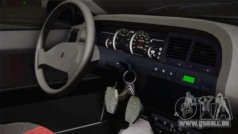 Citroen Xantia Tuning für GTA San Andreas Rückansicht
