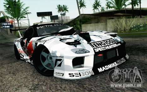 Mazda RX-7 MadMike pour GTA San Andreas