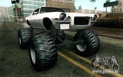 Chevrolet Camaro Z28 Monster Truck pour GTA San Andreas