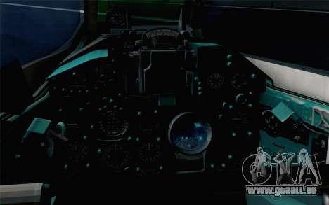 MIG-21UM Vietnam Air Force pour GTA San Andreas vue arrière
